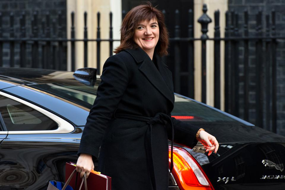 Nicky Morgan, the new Secretary of State for Digital, Culture, Media, and Skills.