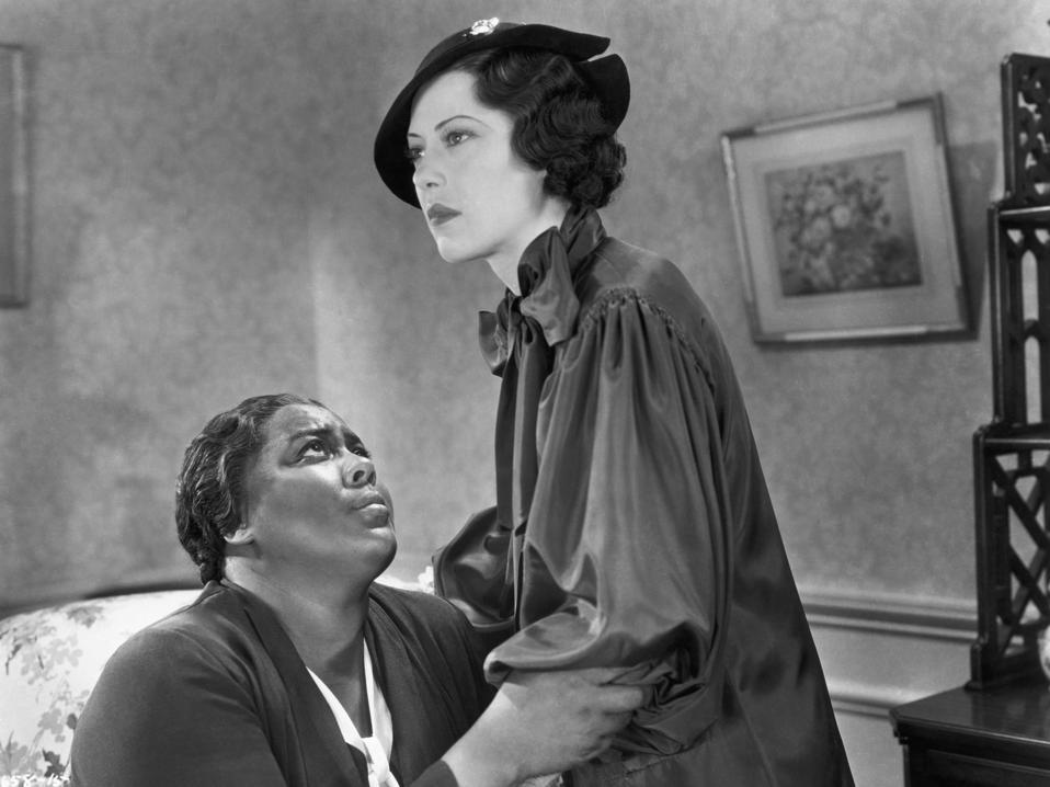 Louise Beavers and Fredi Washington in Imitation of Life