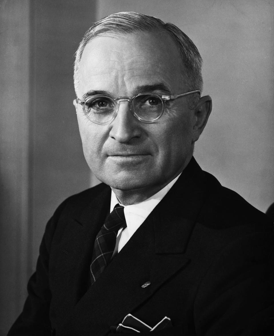 United States President Harry S. Truman