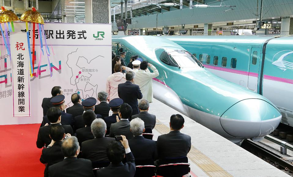 Japan Opens a Futuristic Bullet Train Line from Tokyo to Hokkaido