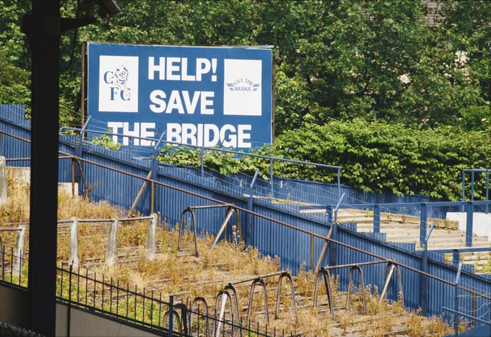 Stamford Bridge circa 1989