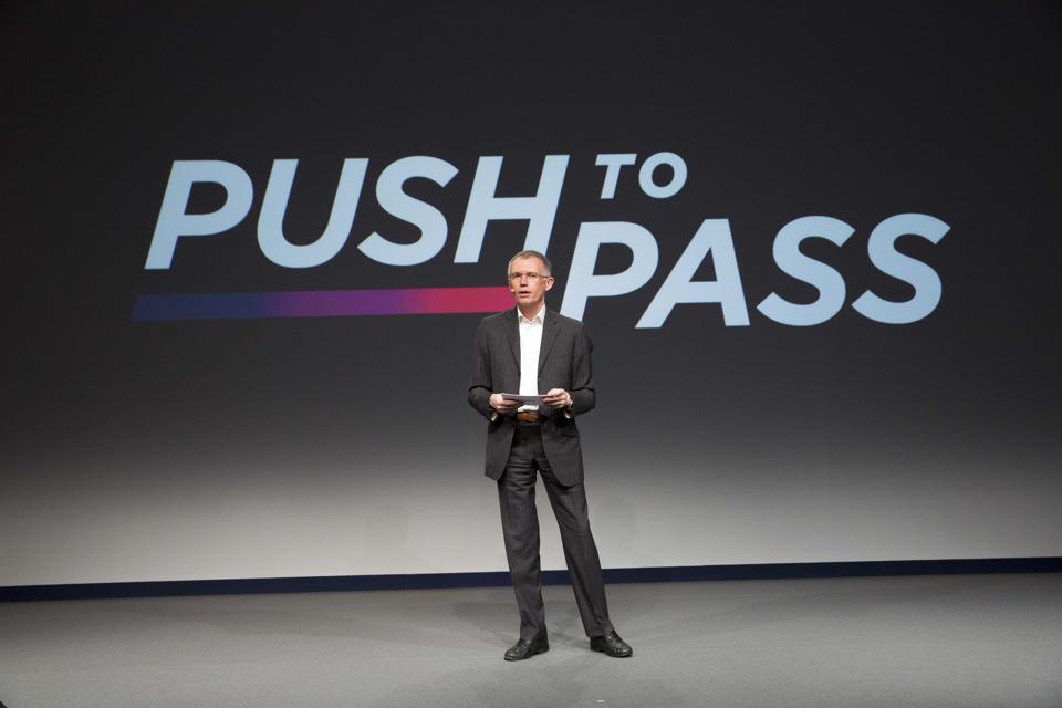 PSA Peugeot Citroen's Press Conference in Paris