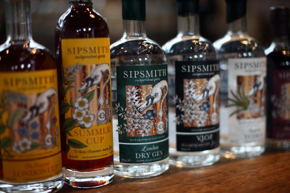 Sipsmith Gin Makers Are First Copper Distillery In London For 200 Years