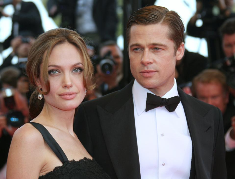 Bad taste Angelina jolie brad pitt threesome