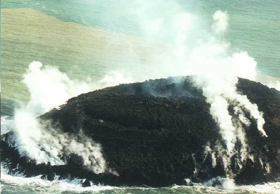 Underwater Volcano Famous For Creating New Islands Erupts