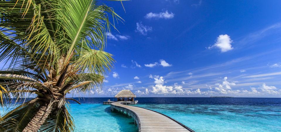 Arrival Jetty - Dusit Thani Maldives