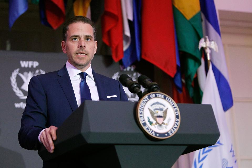 Report: Diplomat Reveals He Flagged Hunter Biden's Ukraine Work In 2015