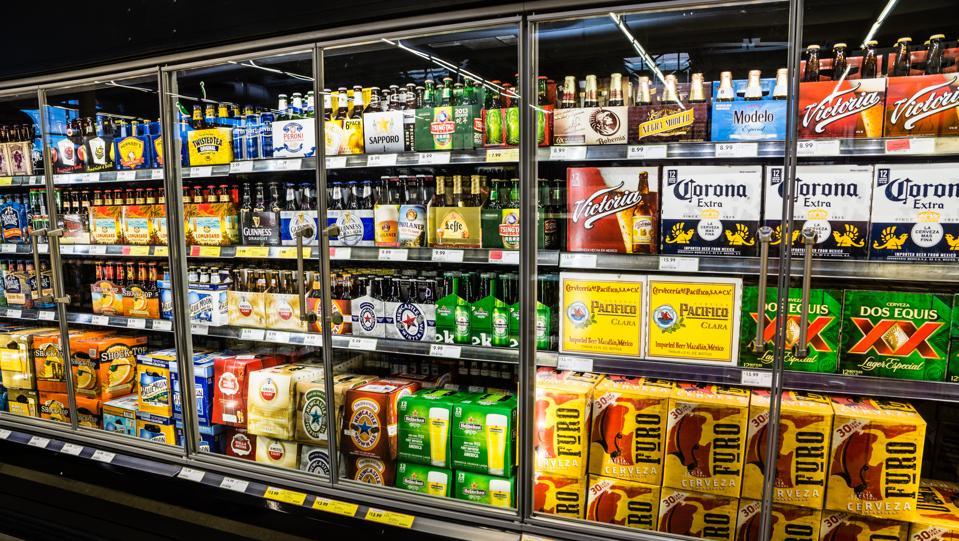 Grocery Store Beer Cooler