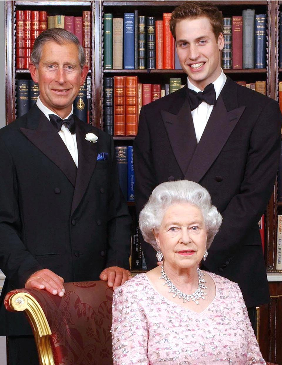 Queen, Charles and William