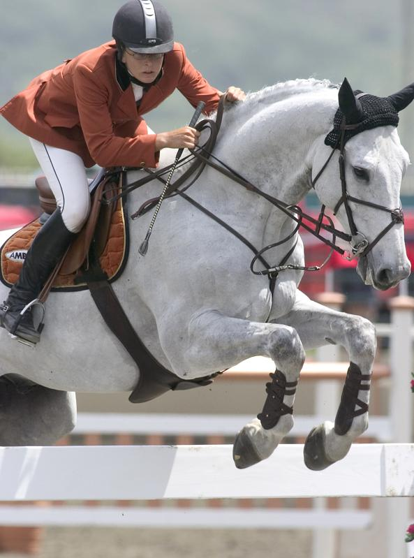 Clare Bronfman Equestrian 2004 - Olympic Show Jumping Trials