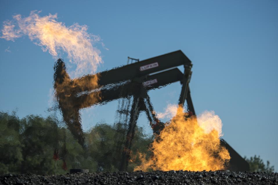 US gas flaring