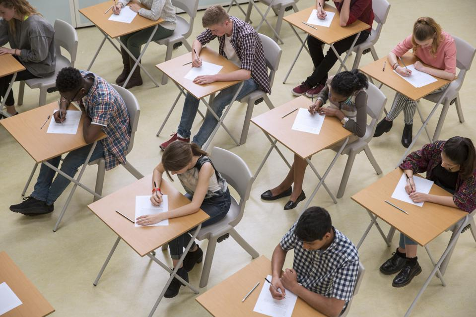 American scores on international standardized tests are stagnant.
