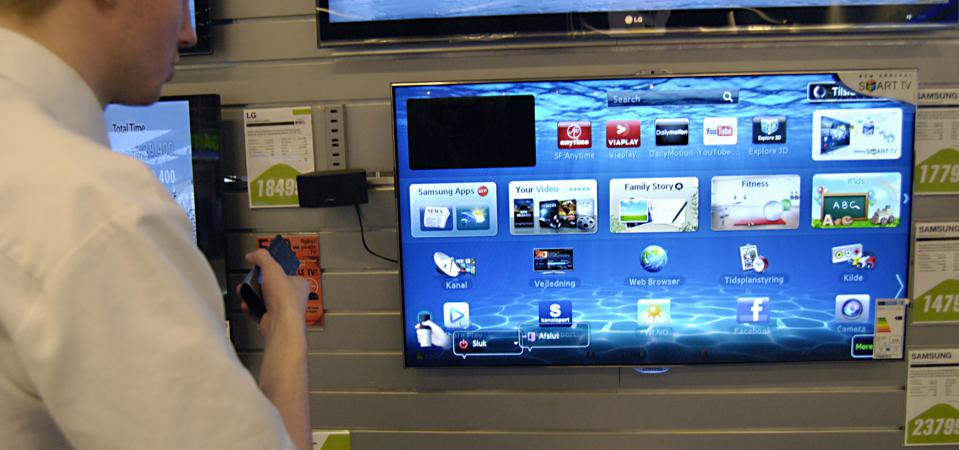 Smart TVs are changing TV viewing and Internet usage.