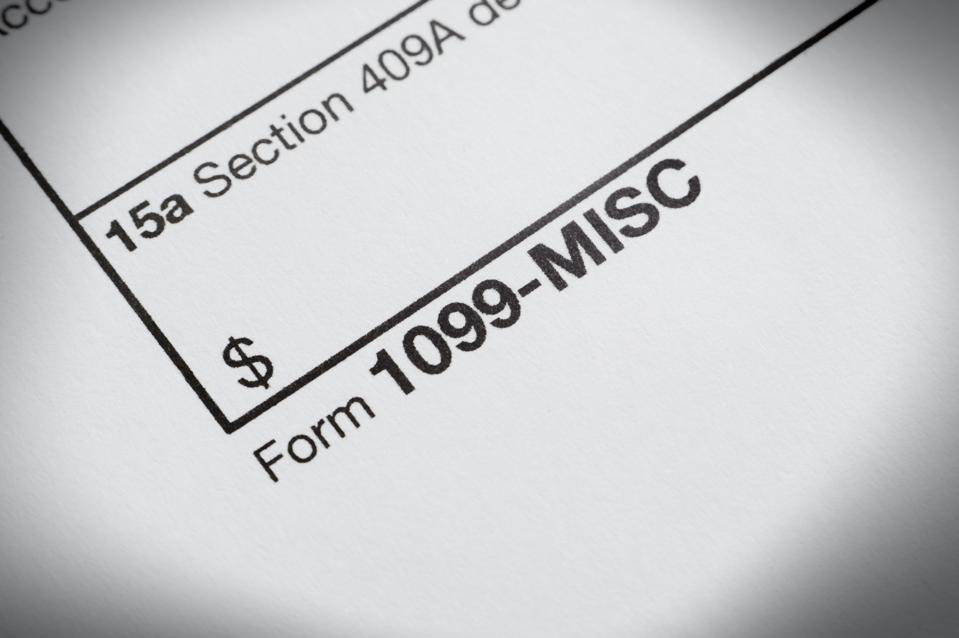 Hey My Irs Form 1099 Is Wrong Maybe Intentionally