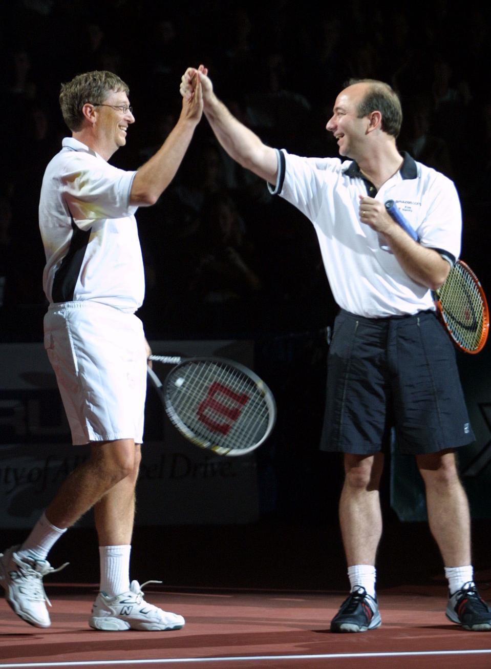 Schick Tennis Challenge X Bezos