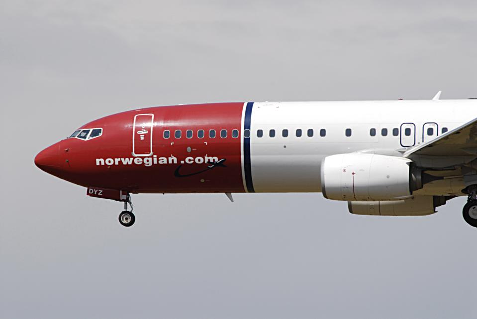Interntional flights lanndin Kastrup Copenhagen Denmark