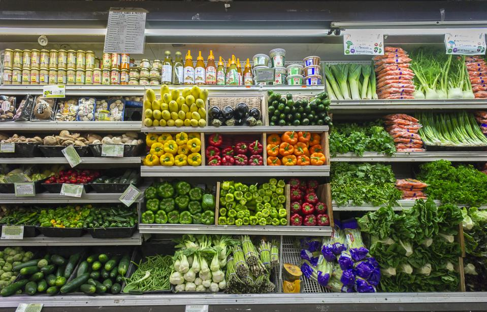 Produce section. Photo by Richard Levine/Corbis via Getty Images