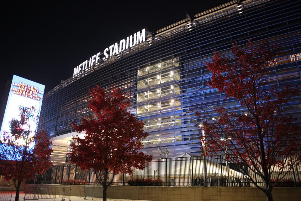 MetLife Stadium at the Meadowlands Sports Complex in East Rutherford, New Jersey.