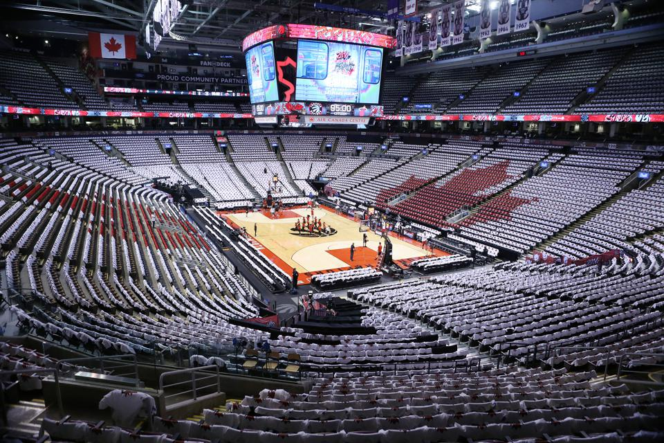Toronto Raptors play the Miami Heat in game  one of the NBA  Conference Semifinals