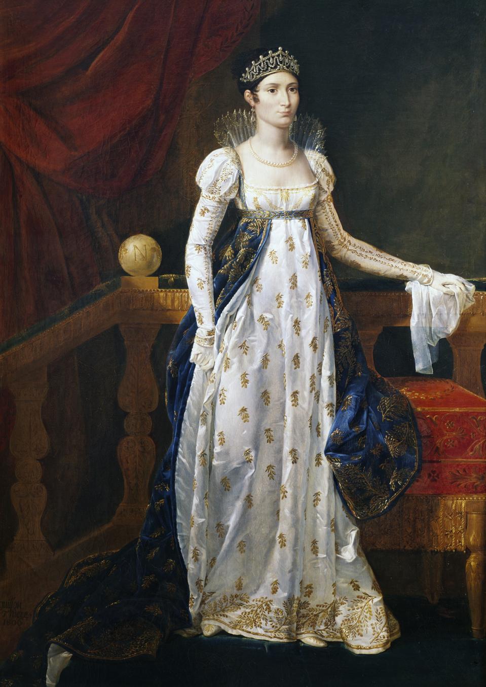 Portrait of Maria Anna Elisa Bonaparte Baiocchi...