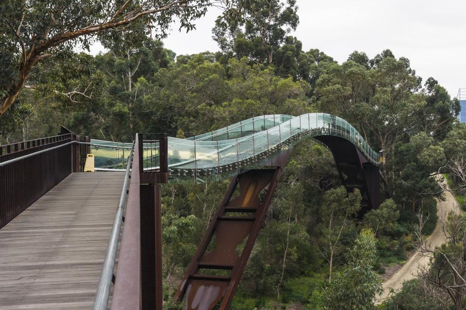 Kings Park Bridge in Perth Western Australia