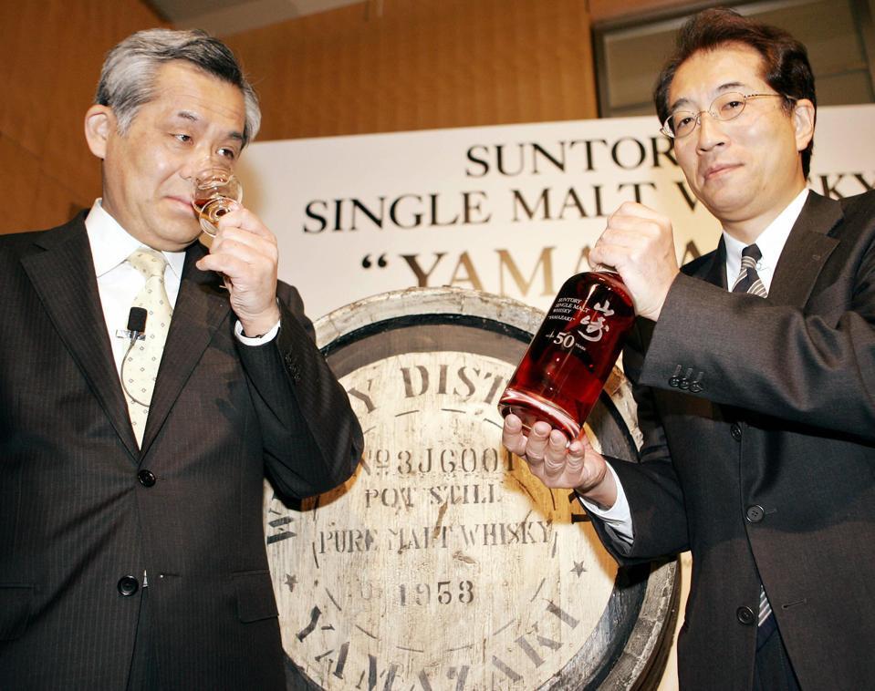 Chief blender of Japanese liquour giant