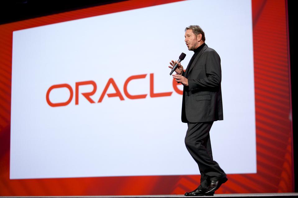 USA - Technology- Oracle CEO Larry Ellison Kicks Off OpenWorld