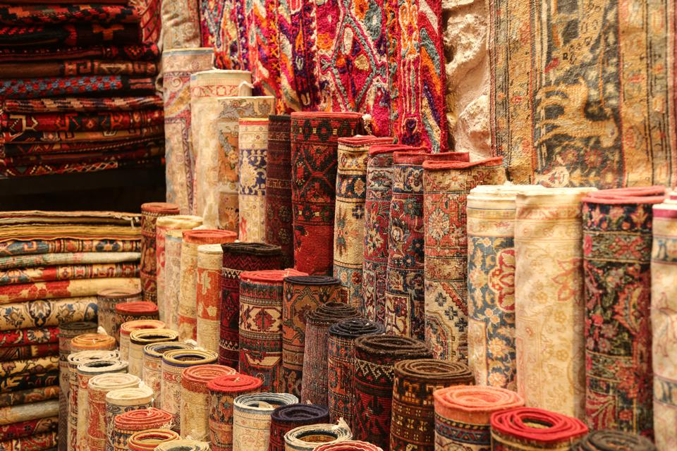Carpets in Istanbul