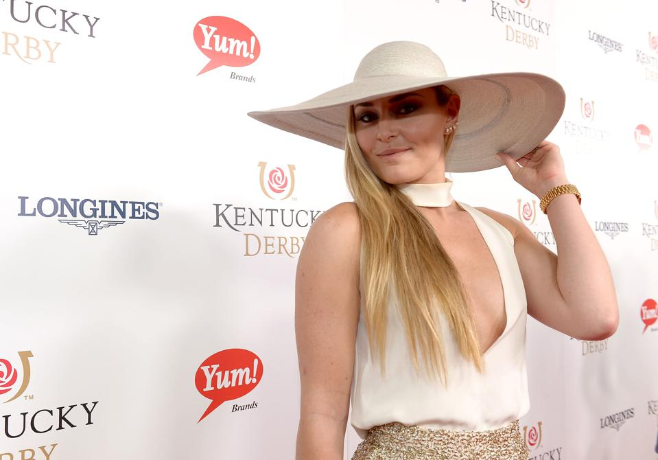 Celebrities at the 2016 Kentucky Derby