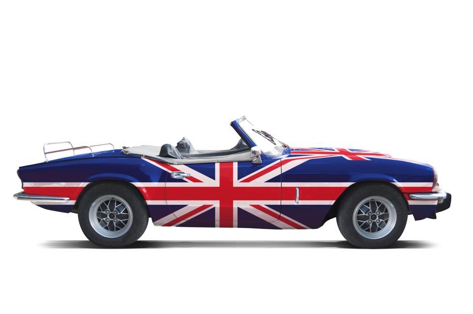 British Triumph GT6 Convertible