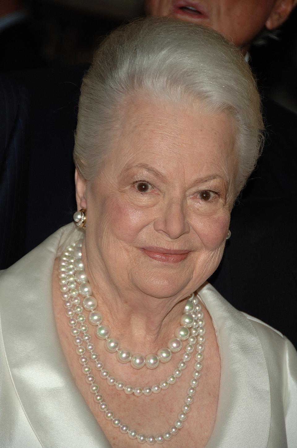USA - The Academy of Motion Picture Arts and Sciences - Tribute to Olivia de Havilland