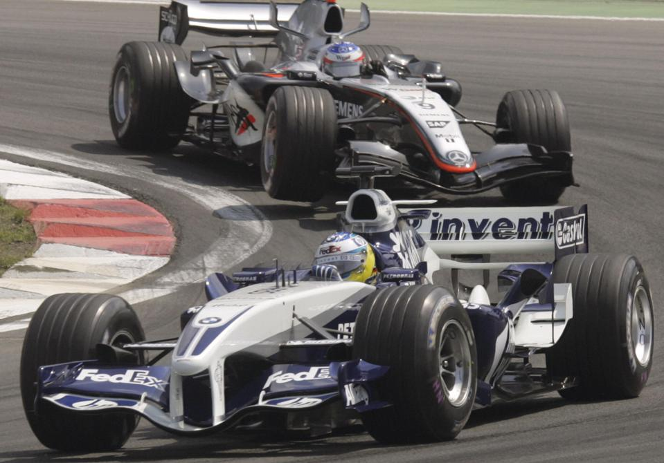 Williams and McLaren are F1's most successful teams after Ferrari (MARCUS BRANDT/AFP via Getty Images)