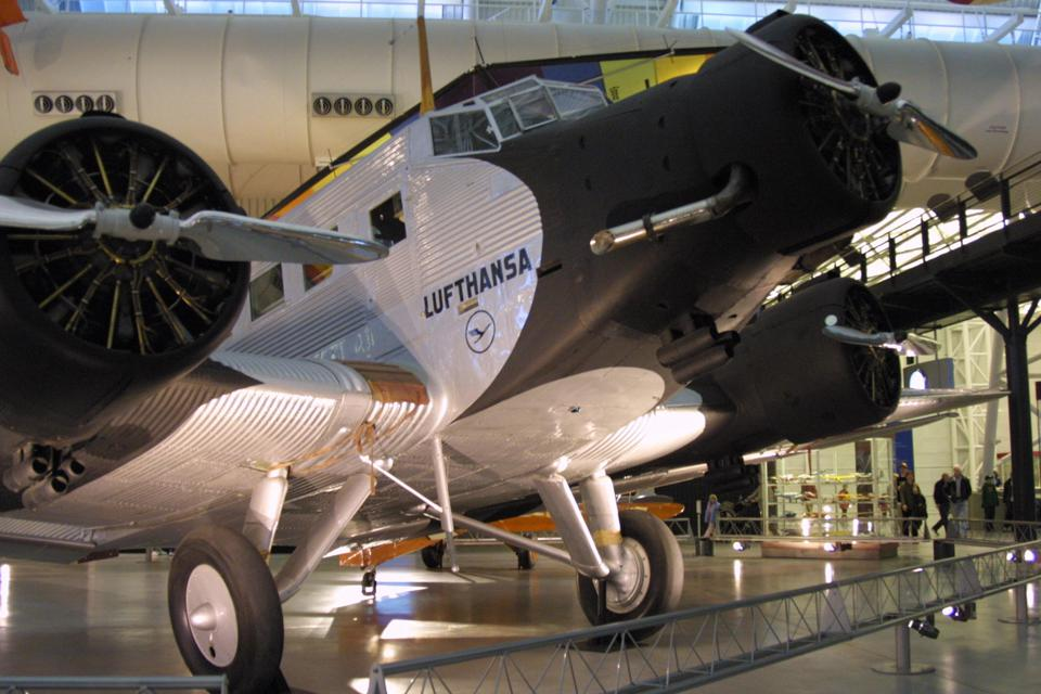 This 28 March, 2005 photo shows a Junker Ju-52.