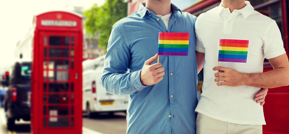 Gay travelers in London