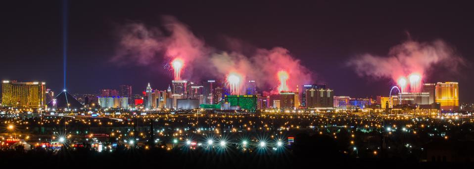 Happy Las Vegas New Year 2015