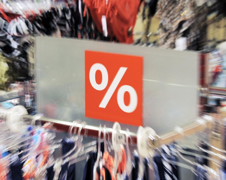 Large percentage sign