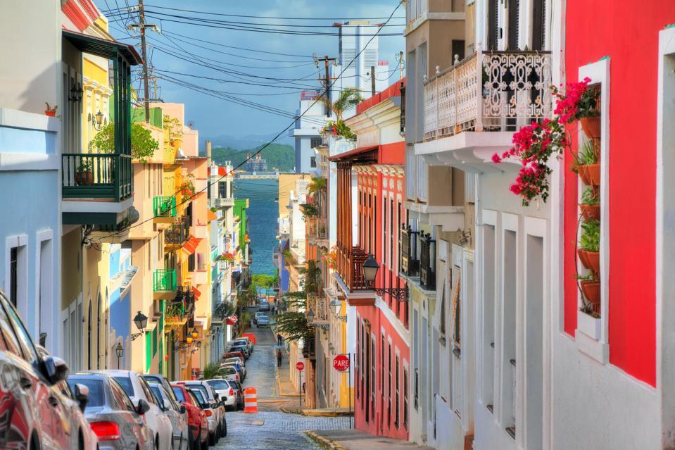 San Juan streetview