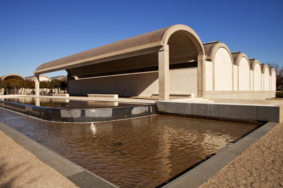 Kimbell Art Museum  - Ft Worth, Texas Landmark