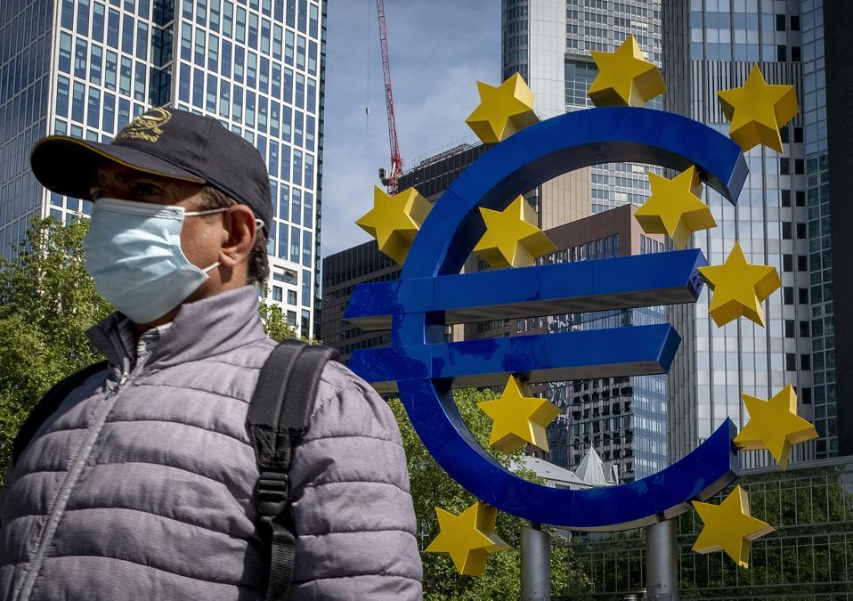 Virus Outbreak Germany Economy ECB