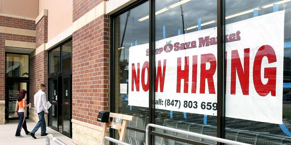 U.S. Employers Add 207,000 Jobs In July