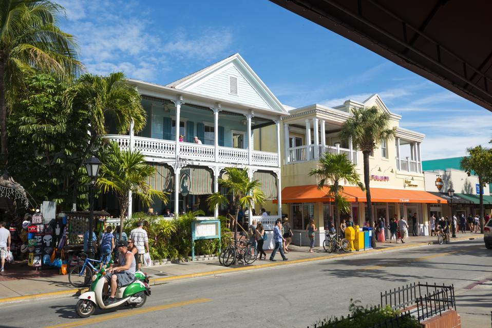 Duval Street in Key West, Florida