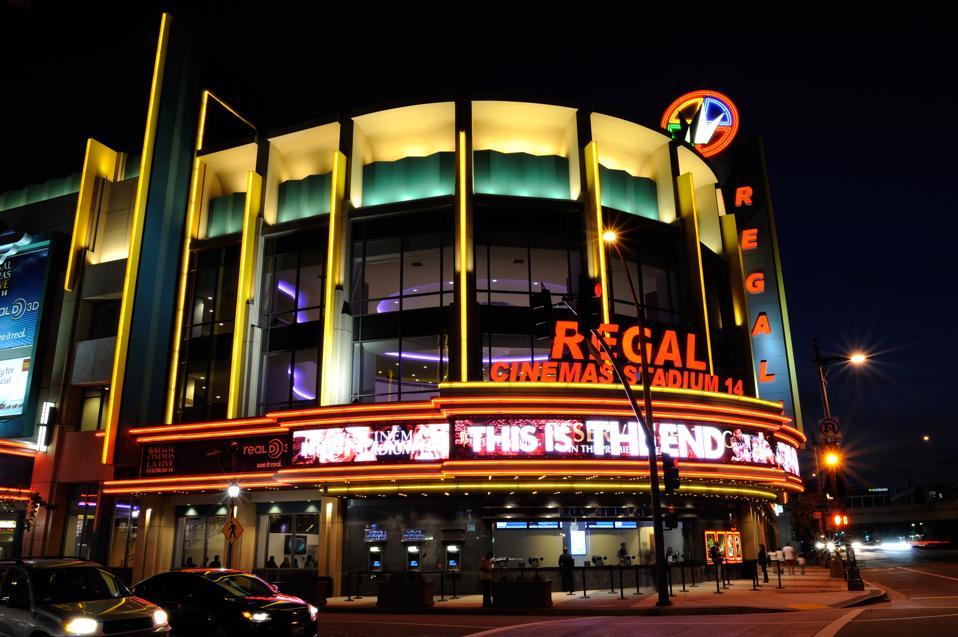Regal Cinemas Stadium 14 in Downtown L.A.