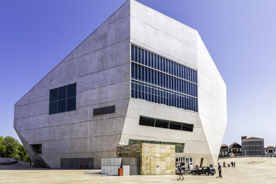 ″Casa da Música″ building in Porto, Portugal