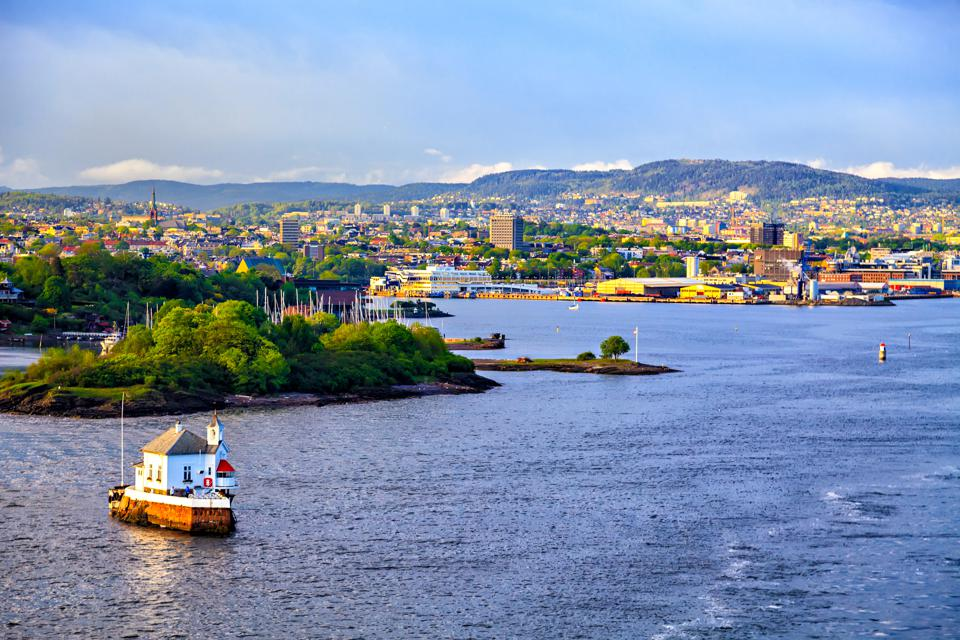 House on the water and Oslo, capital of Norway