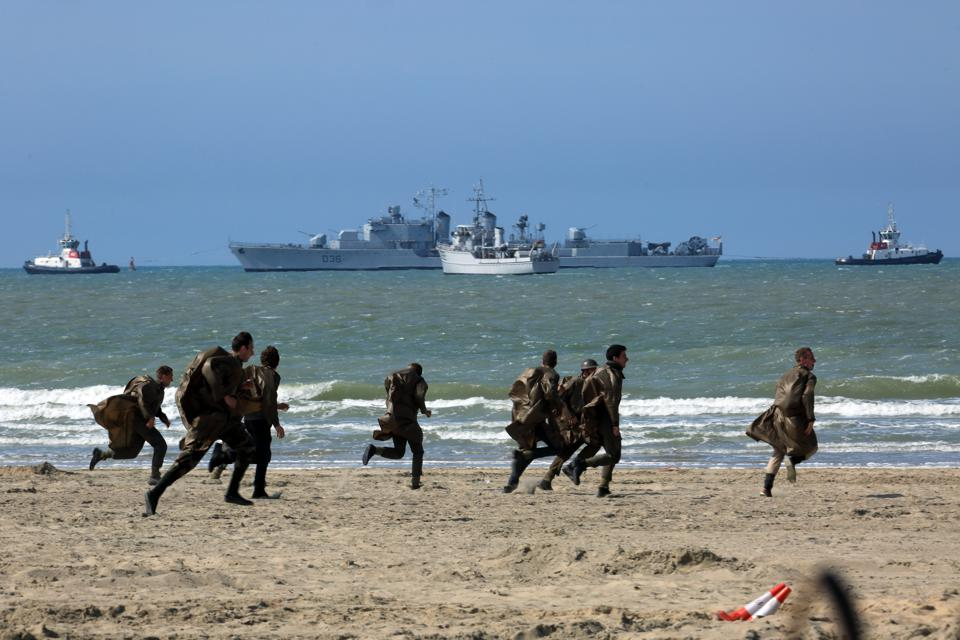 Ambiance on set of ″Dunkirk″, A Film Directed by Christopher Nolan