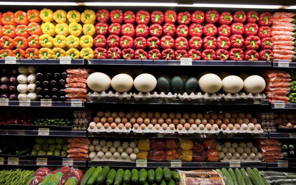 Fresh produce at a Whole Foods supermarket in Maryland. Photo by Brooks Kraft LLC/Corbis via Getty Images
