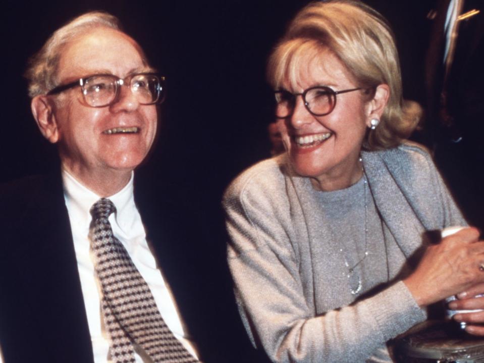 Warren and Susan Buffett