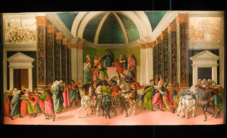 Italy - Botticelli Art Exhibition in Milan For the 500 years anniversary of the death of Sandro Botticelli, the exhibition Botticelli in the Lombard Collections at Poldi Pezzoli Museum, gathers works by one of the most famous artists of the Italian Renaissance. | Location: Milano, Italy.