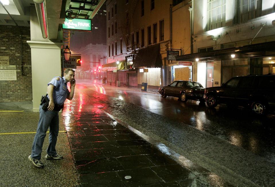 Hurricane Katrina Hits Gulf Coast