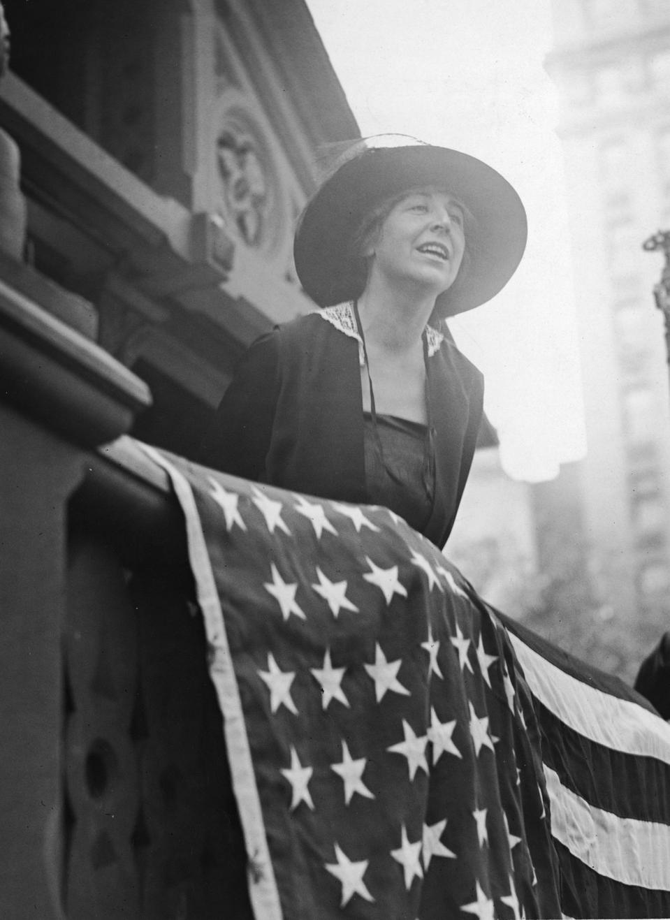 American Pacifist Leader Jeannette Rankin